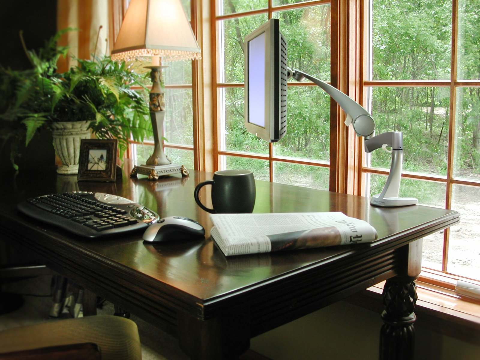 A wireless home office