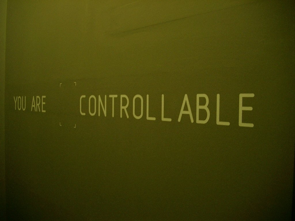 Because you are controllable