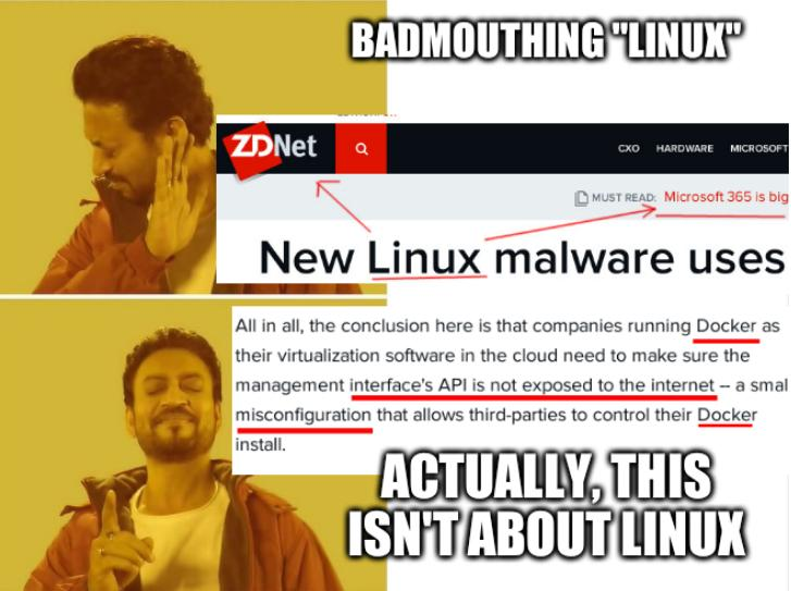 Irrfan Khan - Drake - Hotline approves: Badmouthing 'Linux'; Actually, this isn't about Linux