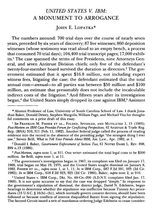 2000 paper about IBM
