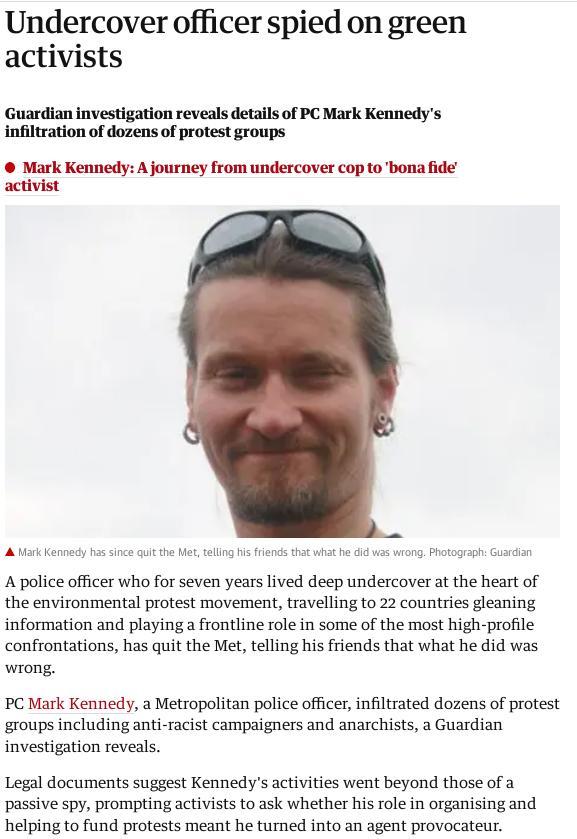 Mark Kennedy spy