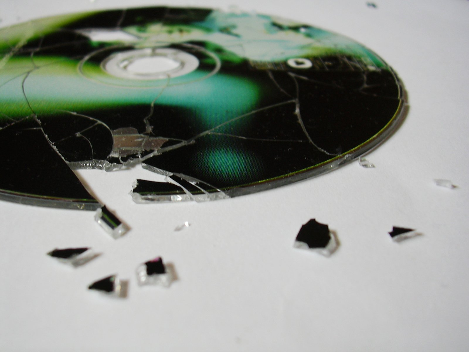 Rebuilding broken CD