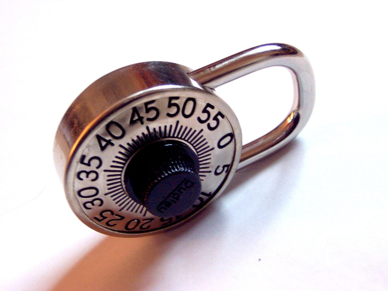 A combination lock