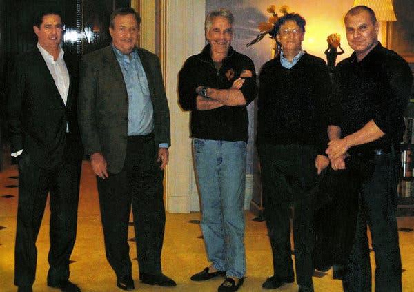 Bill Gates and Epstein