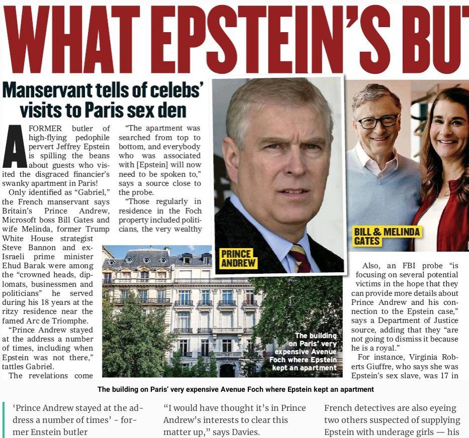 Bill Gates, Jeffrey Epstein