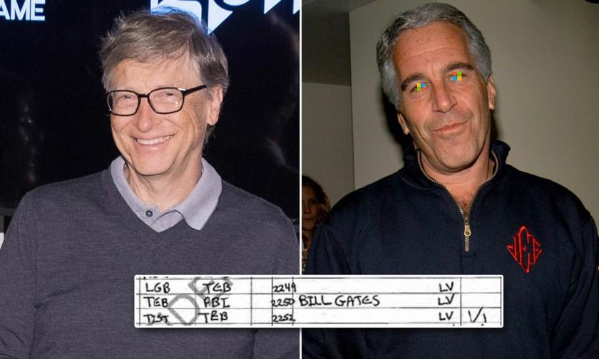 Bill Gates flight log