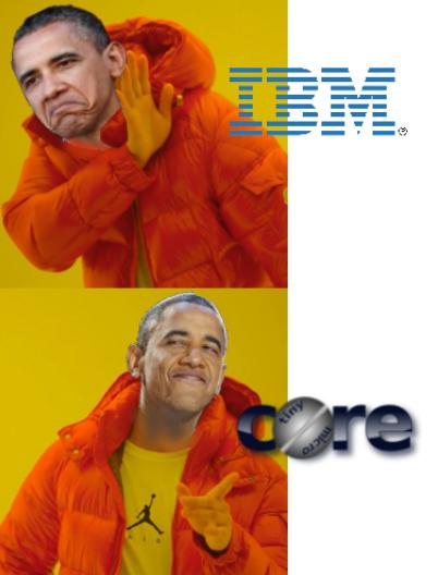 IBM vs Core