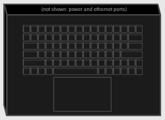 Keyboard grey