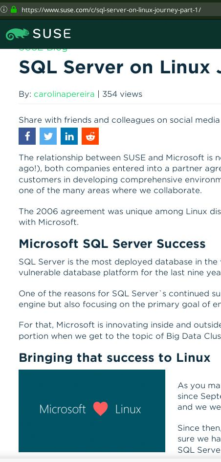 SUSE and Microsoft