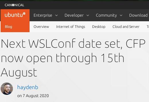 Ubuntu WSL