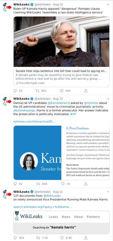 Wikileaks on Harris