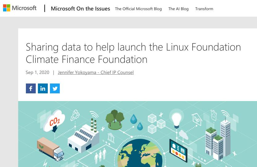 Linux Foundation greenwashing and openwashing for Microsoft