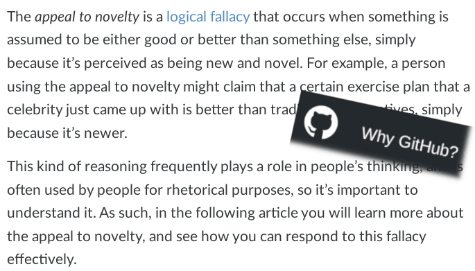 The Appeal to Novelty Fallacy: Why New Isn't Necessarily Better