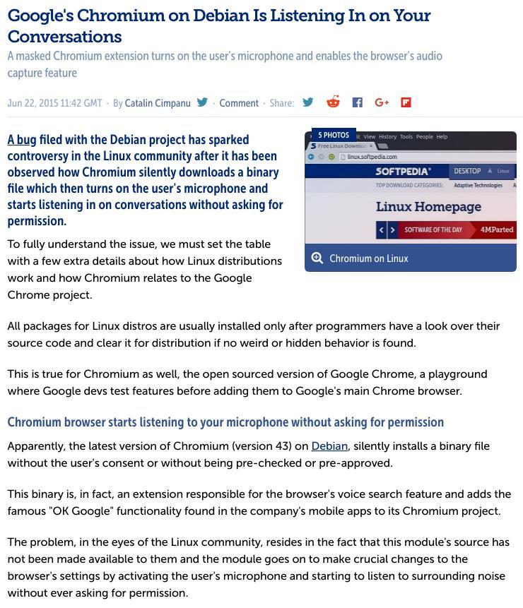 Debian Chromium