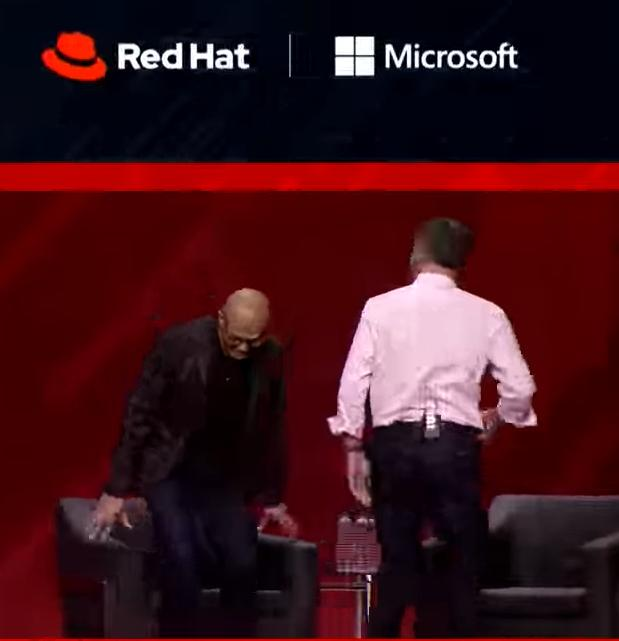 Red Hat Microsoft labels