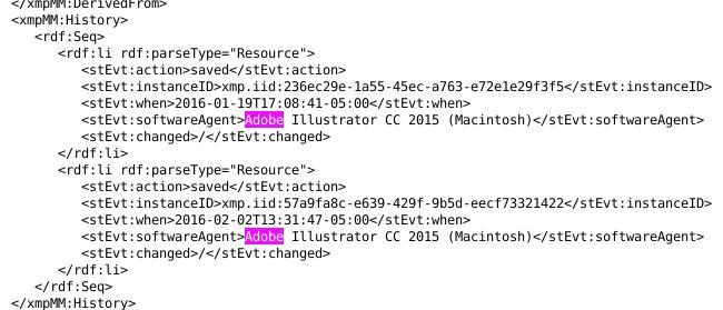 LF report made on Mac