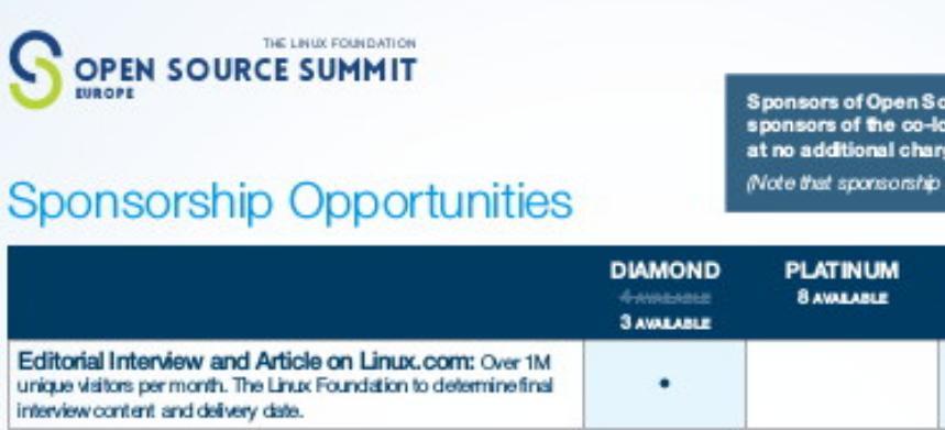 linux.com interview - oss europe