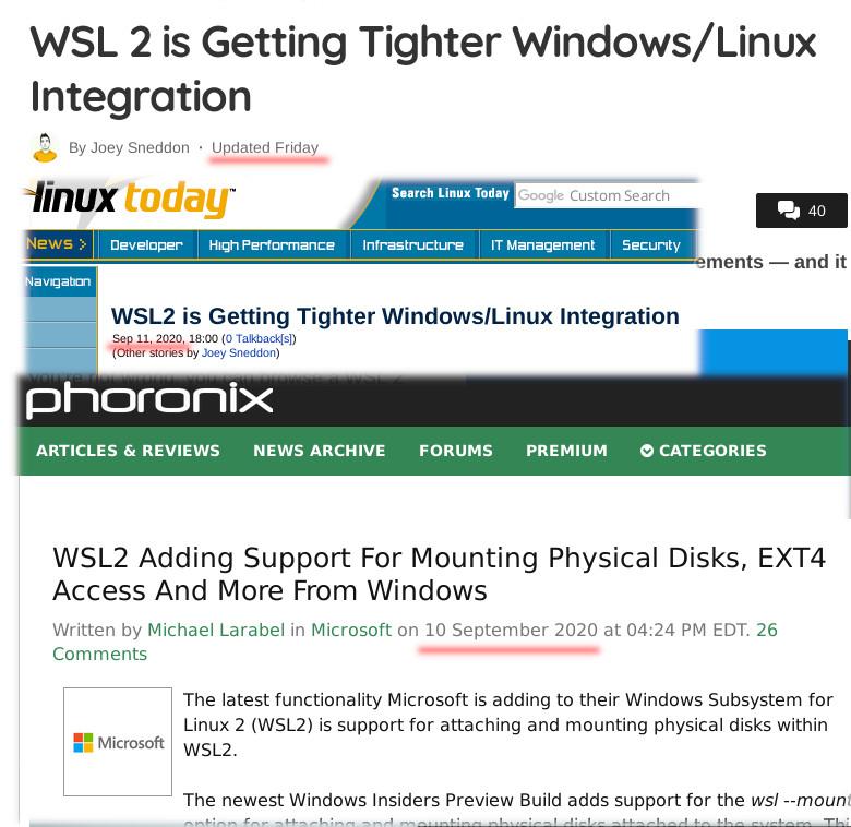 WSL2 spam