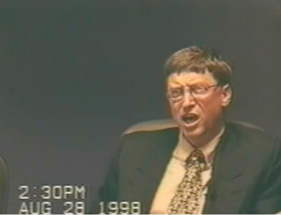 Bill Gates angry