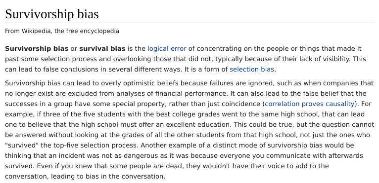 Bias on Wikipedia