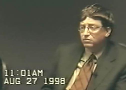 Bill Gates deposition