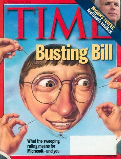 Bill Gates busting