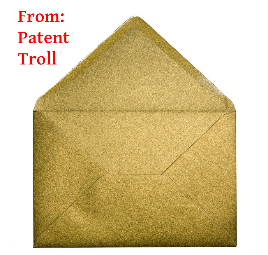 Letter from troll