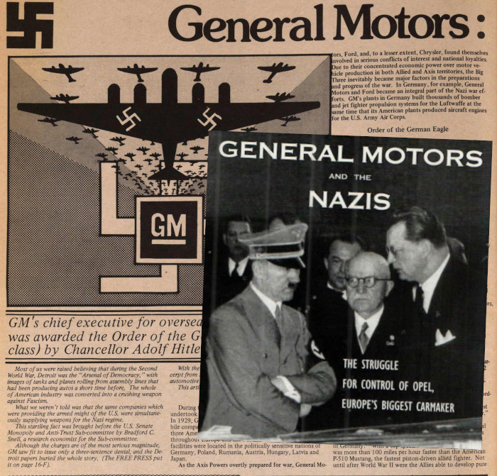 GM and Nazis