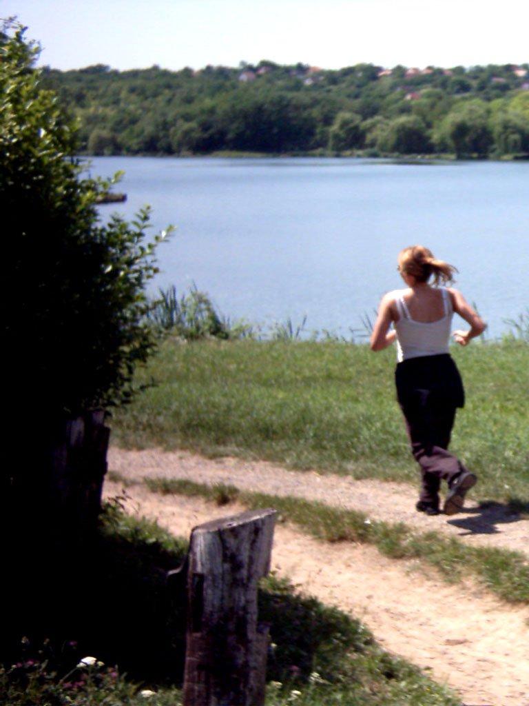 A jog in nature