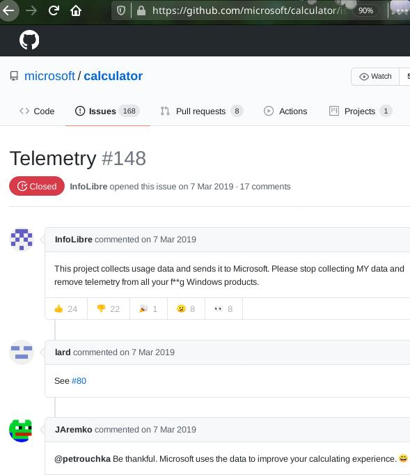 Microsoft telemetry