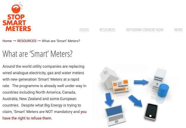 Stop 'smart' meters