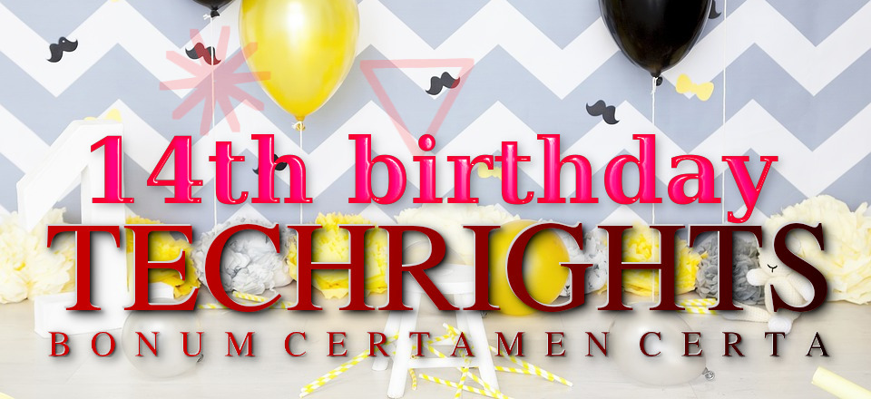 Techrights birthday