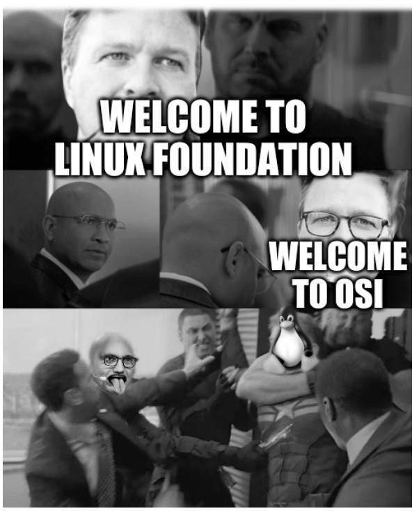 Welcome to OSI, Welcome to Linux foundation