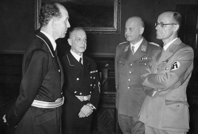 Roland Freisler, Franz Schlegelberger, Otto Georg Thierack and Curt Rothenberger