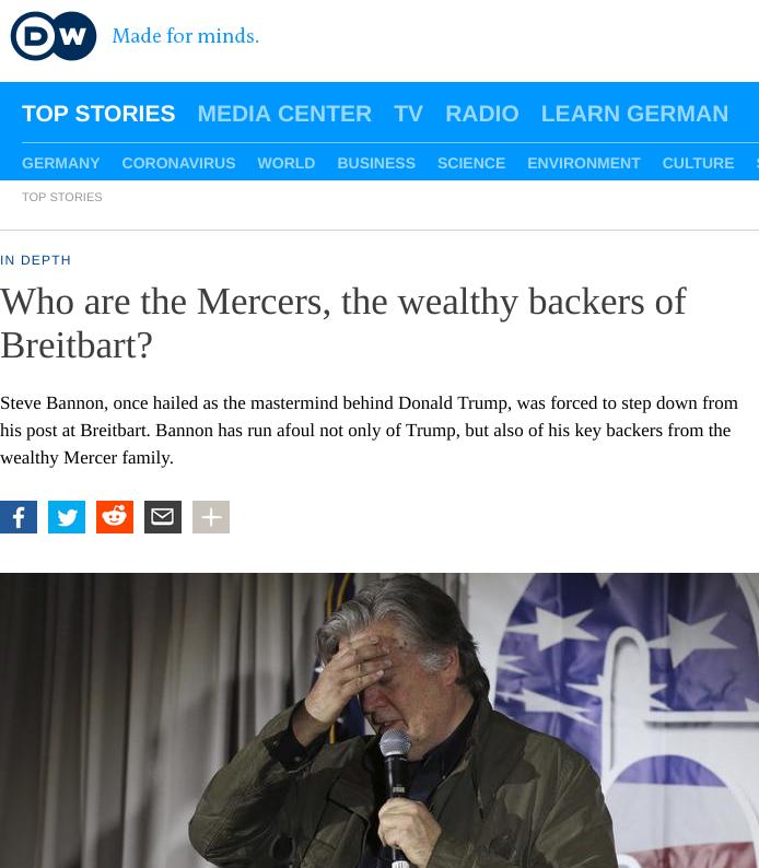 Breitbart Mercer