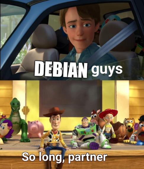 Debian guys