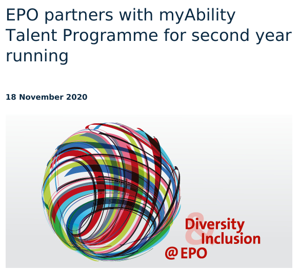 EPO on disability