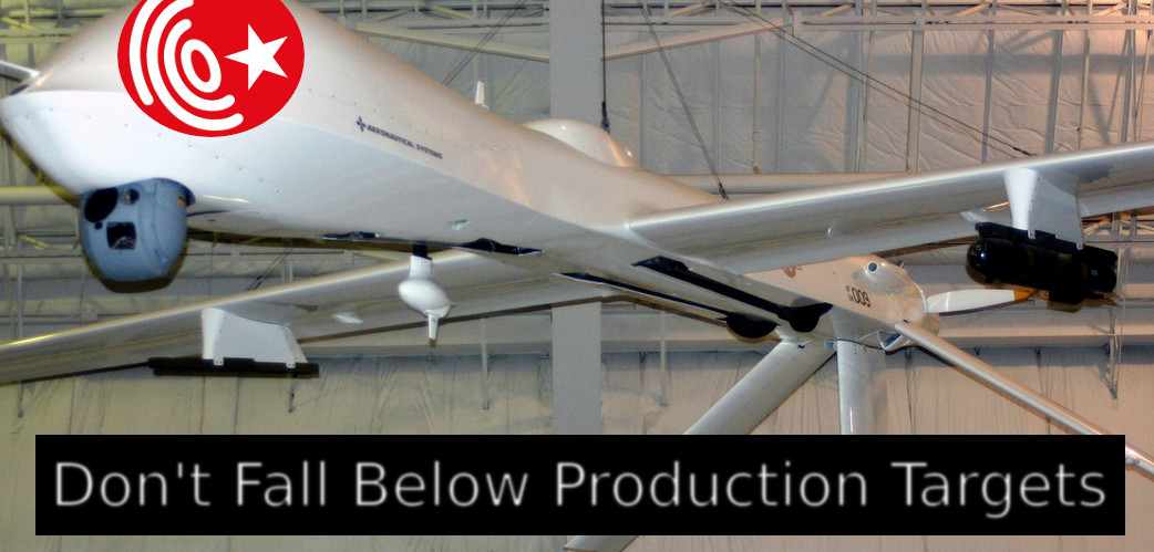 Don't Fall Below Production Targets Or Else!