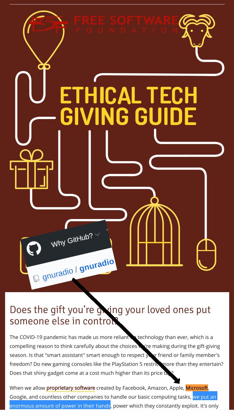 FSF gift guide