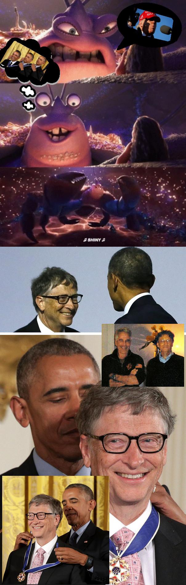 Obama's medal for Gates