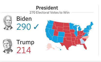 Maps for Biden