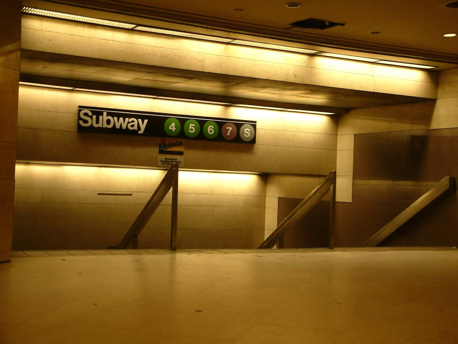 Subway - grand central station