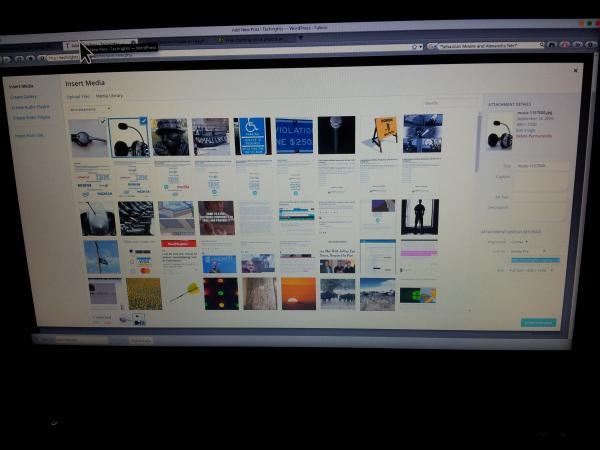 Wordpress closeup