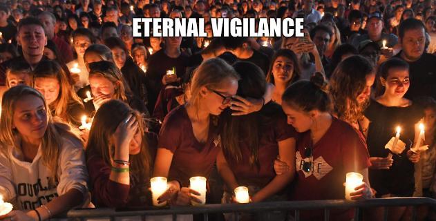 Marjory Stoneman Douglas shooting vigil: Eternal vigilance