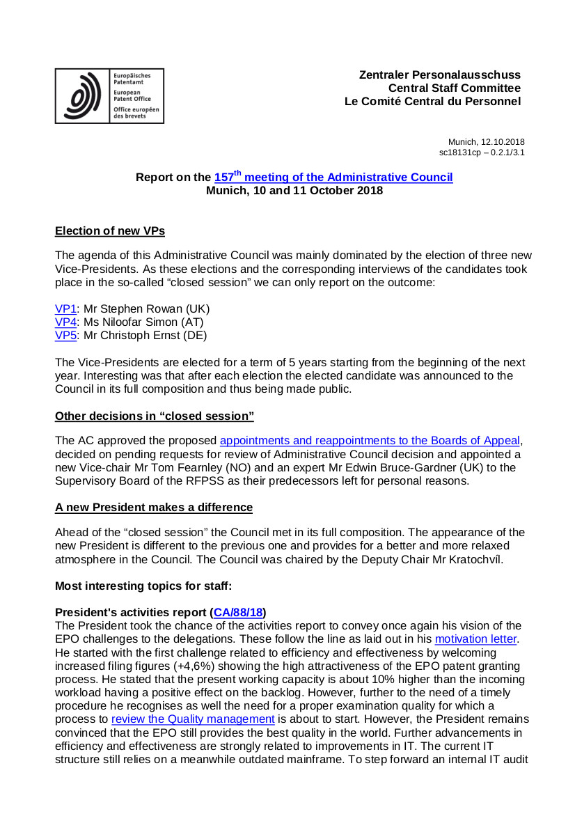 AC 157th meeting - page 1