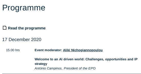 António Campinos on AI