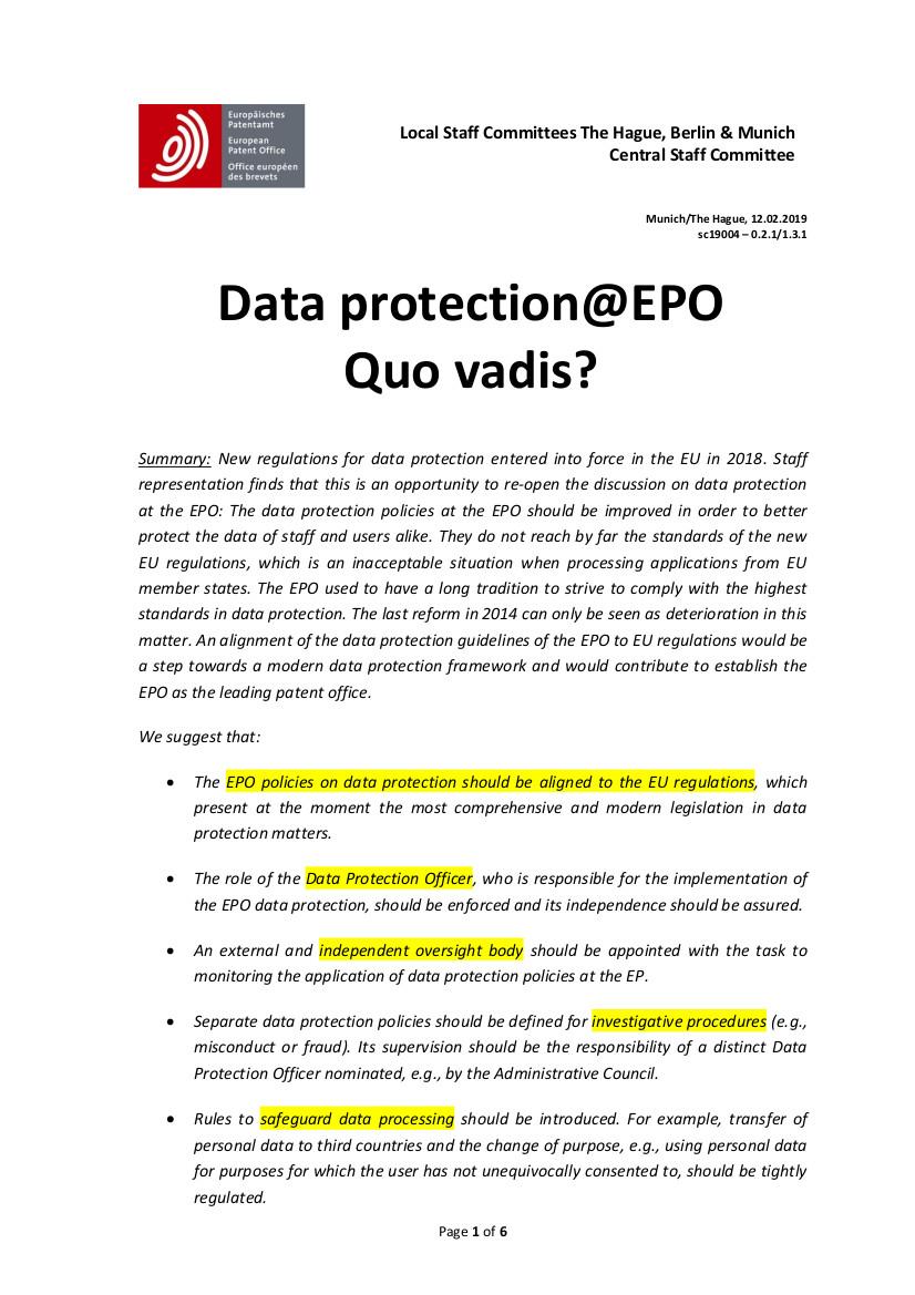 EPO GDPR p1