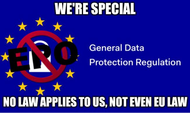 We're special; No law applies to us, not even EU law