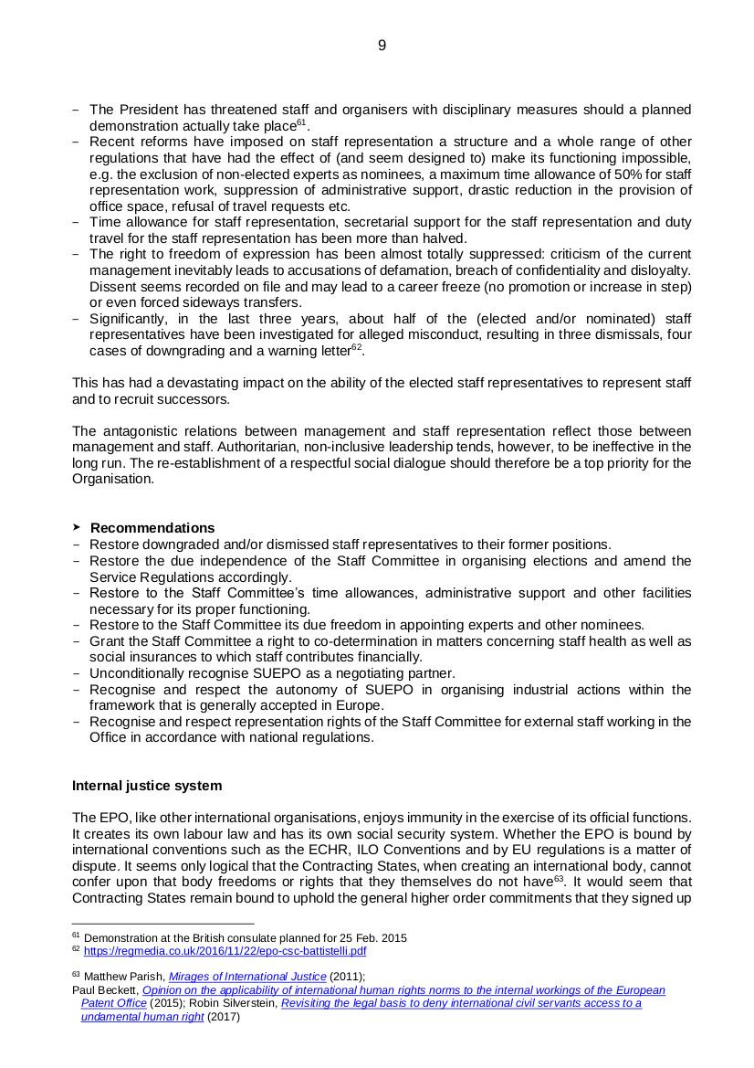 EPO governance p9