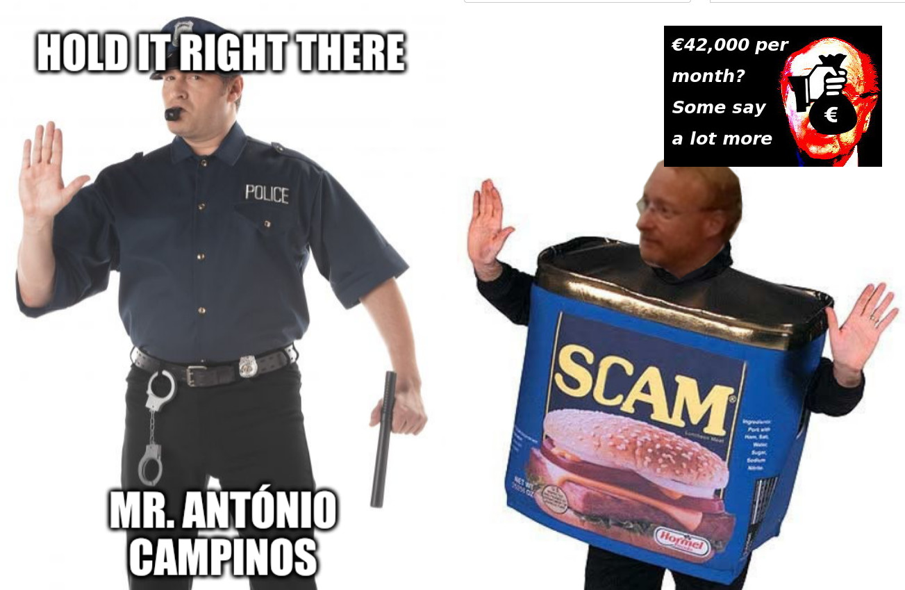 Hold it right there, Mr. António Campinos
